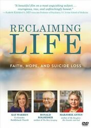 Reclaiming Life : Faith Hope and Suicide Loss Hardcover by Rol