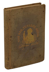 The Bar-Tender's Guide or How to Mix Drinks JERRY THOMAS First Edition 1st 1862