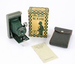 KODAK GIRL SCOUT KODAK BOXED WITH CASE AND INSTRUCTIONScks204100