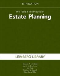 Tools & Techniques of Estate Planning Paperback by Leimberg Stephan R.; She...