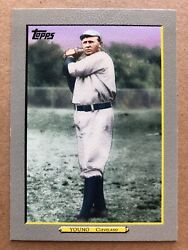 2009 Topps Turkey Red Baseball Card #TR97 Cy Young Cleveland Naps $3.99