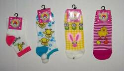 Ladies Womens Girls Easter Novelty Socks 9 11 Choice Chick Bunny $3.99