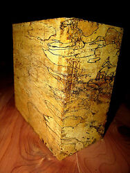 BEAUTIFUL THICK EXOTIC SPALTED TAMARIND BOWL BLANK LATHE TURNING 6 X 6 X 4