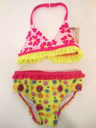 Swimsuits Toddler girls swimsuits Girls clothes Swimwear Tops Bottoms 2 PC 3T $6.95