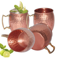 Cocktail beer cup Mug Drinking Copper Moscow Mule Bar Brass Steel Wine Barware