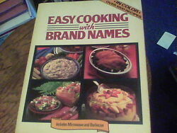 Easy Cooking with Brand Names a Lorraine Greey Book ck1e