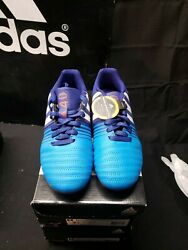 New Adidas Nitro charge 4.0 FxG J Boys Soccer Boots Cleats 2.5 $24.69