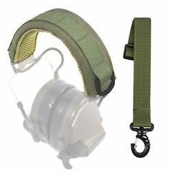 Armorwerx Padded MOLLE Headband Cover for Ear Muffs & Communication Headsets $24.99