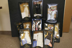 Franklin Mint Titanic Rose Vinyl Doll With 12 Ensembles HUGE Collection W COAs