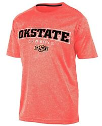 OKLAHOMA STATE COWBOYS CHAMPION quot;IMPACTquot; ORANGE HEATHER S S T SHIRT SZ LARGE NEW $4.95