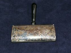 Broom Crumb SweeperSilent Butler-Celtic Quality Silver Plate England Bird Etch