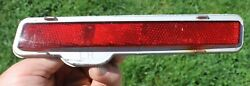 1980-1989 Cadillac Deville Fleetwood Bumper Mounted Rear Marker Light LH Side