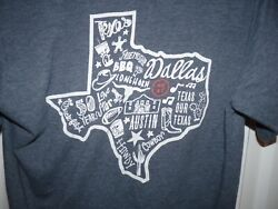 CHICK-FIL-A CHICKFILA DALLAS TEXAS 2017 Restaurant Chicken Shirt Size S