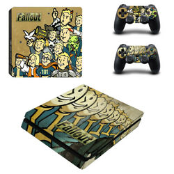 Fallout Vinyl Sticker Decal cover for PS4 Slim Console & Controller Skins #9