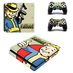 Fallout Vinyl Sticker Decal cover for PS4 Slim Console & Controller Skins #12
