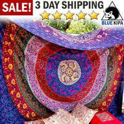 Wall Hanging Mandala Tapestry Dorm Decor Bedspread Picnic Blanket Beach Throw