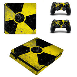 Fallout Vinyl Sticker Decal cover for PS4 Slim Console & Controller Skins