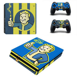 Fallout Vinyl Sticker Decal cover for PS4 Slim Console & Controller Skins #22