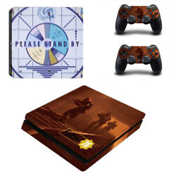 Fallout Vinyl Sticker Decal cover for PS4 Slim Console & Controller Skins #31