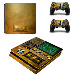 Fallout Vinyl Sticker Decal cover for PS4 Slim Console & Controller Skins #20