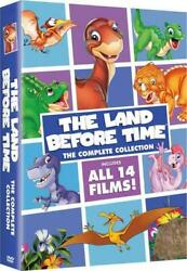 The Land Before Time: The Complete Collection 8 DVD discs All 14 films