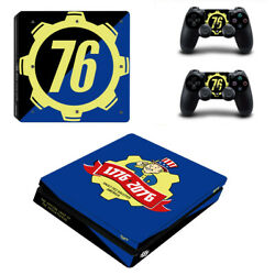 Fallout Vinyl Sticker Decal cover for PS4 Slim Console & Controller Skins #27