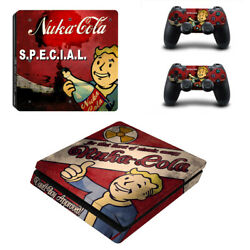 Fallout Vinyl Sticker Decal cover for PS4 Slim Console & Controller Skins #24