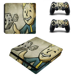 Fallout Vinyl Sticker Decal cover for PS4 Slim Console & Controller Skins #15