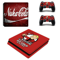 Fallout Vinyl Sticker Decal cover for PS4 Slim Console & Controller Skins #11