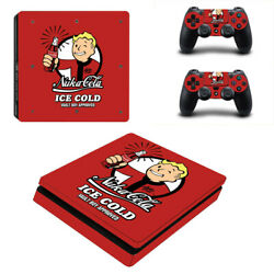 Fallout Vinyl Sticker Decal cover for PS4 Slim Console & Controller Skins #21