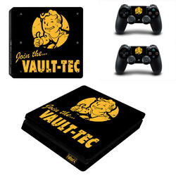 Fallout Vinyl Sticker Decal cover for PS4 Slim Console & Controller Skins #25