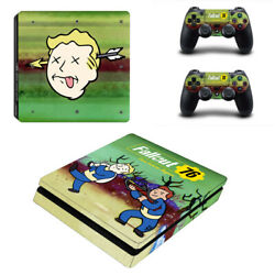 Fallout Vinyl Sticker Decal cover for PS4 Slim Console & Controller Skins #42