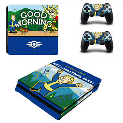 Fallout Vinyl Sticker Decal cover for PS4 Slim Console & Controller Skins #26