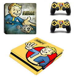 Fallout Vinyl Sticker Decal cover for PS4 Slim Console & Controller Skins #13