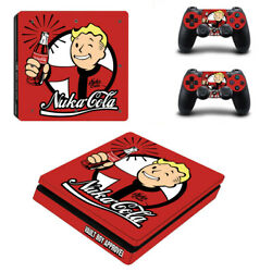 Fallout Vinyl Sticker Decal cover for PS4 Slim Console & Controller Skins #5