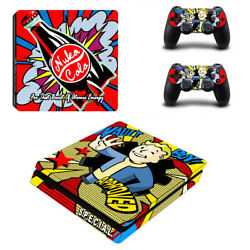 Fallout Vinyl Sticker Decal cover for PS4 Slim Console & Controller Skins #16