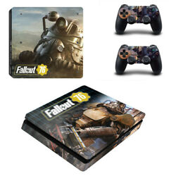 Fallout Vinyl Sticker Decal cover for PS4 Slim Console & Controller Skins #32