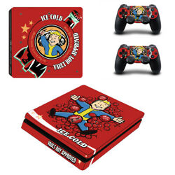 Fallout Vinyl Sticker Decal cover for PS4 Slim Console & Controller Skins #7