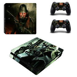Fallout Vinyl Sticker Decal cover for PS4 Slim Console & Controller Skins #8