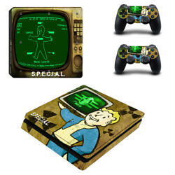 Fallout Vinyl Sticker Decal cover for PS4 Slim Console & Controller Skins #4