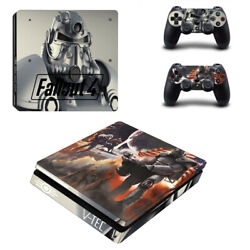 Fallout Vinyl Sticker Decal cover for PS4 Slim Console & Controller Skins #23