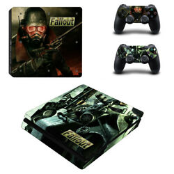 Fallout Vinyl Sticker Decal cover for PS4 Slim Console & Controller Skins #14