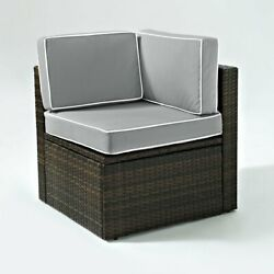 Crosley Furniture Palm Harbor All Weather Wicker Outdoor Conversation Set -