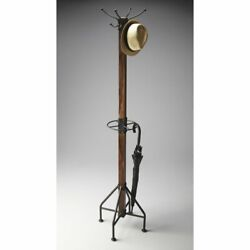Butler Mountain Lodge Standing Coat Rack