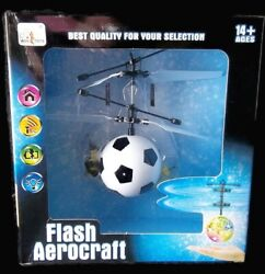 Flying Soccer Ball Mini Helicopter Drone Kids Toy Flash Aerocraft $16.95