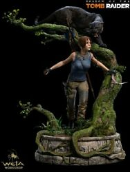 Weta Collectibles Shadow of the Tomb Raider Lara Croft Quarter Scale Statue New