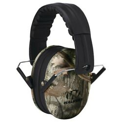 Walkers Game GSMFKDMCMO PSV Kids Camo Earmuffs Hearing Protection Gun Shooting