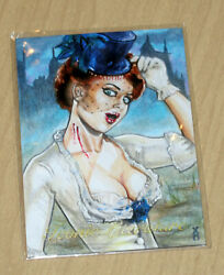 2019 Iconic Literature sketch card 11 Veronica O'Connell only one she did