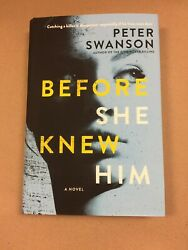 Before She Knew Him by Peter Swanson (Hardcover)