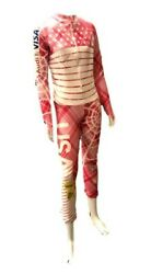 Lindsey Vonn Signed Speed Suit worn when she won the Women's Super G 1312010